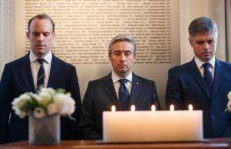 وزيرا الخارجية الكندي والبريطاني يكرمان ضحايا طائرة الركاب التي أسقطتها إيران
