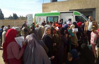 الكشف على 2100 مريض في قافلة طبية بمركز دمنهور | صور
