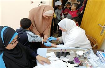 الكشف على 2700 مواطن في قافلة طبية بدمياط | صور