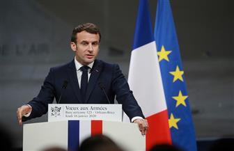 ماكرون: إرسال حاملة الطائرات شارل ديجول بدءا من يناير وحتى أبريل لدعم عمليات الجيش الفرنسي في الشرق الأوسط