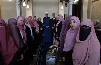 """أمين """"البحوث الإسلامية"""" يتفقد ختام ورشة العمل الرابعة لصناعة المفتية"""