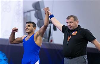 «كيشو» يفوز بذهبية روما الدولية للمصارعة