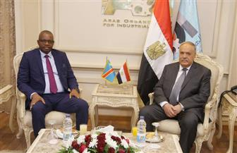 """رئيس """"العربية للتصنيع"""" يبحث التعاون الأمني والاقتصادي مع مساعد رئيس الكونغو"""