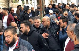 المصري يودع لاعبه الشاب وسط حضور كبير من لاعبي وجمهور بورسعيد | صور