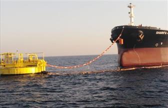تشغيل المنظومة الجديدة للشحن البحري بموقع ميناء الحمراء البترولي