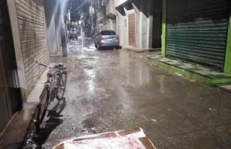 سقوط أمطار غزيرة على محافظة دمياط | صور
