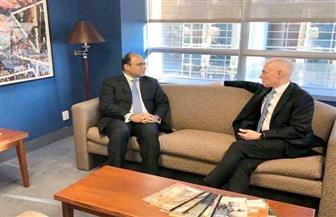 سفير مصر في كندا يلتقى مستشار الأمن القومي الكندى ويناقش التطورات في الشرق الأوسط