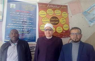 رئيس منطقة البحر الأحمر الأزهرية يتابع سير امتحانات الشهادتين الابتدائية والإعدادية