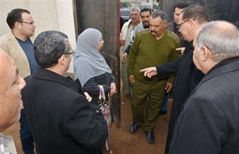 محافظ الشرقية يأمر بتحرير محضر لسيدة تم ضبطها داخل لجان امتحانات الإعدادية | صور