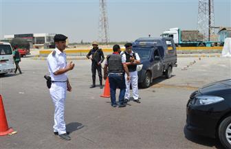 حملات مرورية على الطرق والمحاور بالتنسيق مع جميع مديريات الأمن
