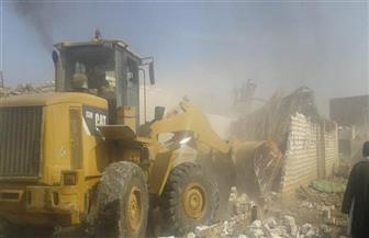 إزالة 56 حالة تعد على الأراضي الزراعية بمراكز بني سويف