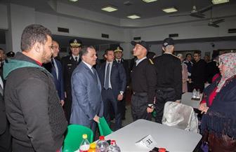 وزير الداخلية يزور أكاديمية الشرطة ويلتقي الطلبة الجدد| صور