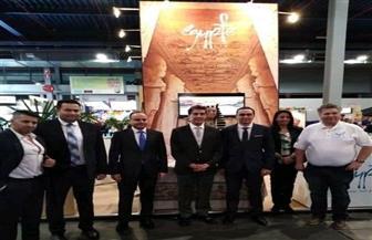 سفير مصر في هولندا يشارك في حفل افتتاح الجناح المصري بمعرض Vakantieboer للسياحة | صور
