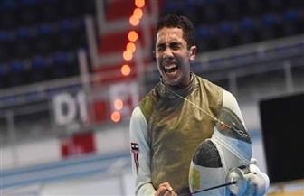 محمد حمزة يحرز ذهبية كأس العالم لسلاح الشيش بفرنسا