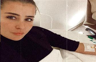 عائشة بن أحمد تتعرض لوعكة صحية  صور