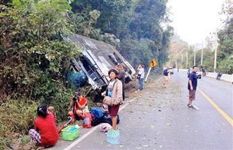 انقلاب حافلة سياحية ومقتل 8 أشخاص في جاوة الغربية بإندونيسيا