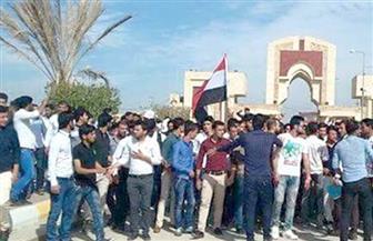 متظاهرون يقطعون عددا من الطرق والجسور في مدينة الناصرية العراقية