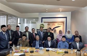 زيارة مسئولي التعليم العالي والشئون الدينية بماليزيا لفرع منظمة الخريجين بالأزهر
