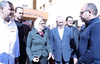 وزيرة الصحة توجه بالانتهاء من أعمال تطوير مستشفى الأقصر العام قبل مارس المقبل | صور