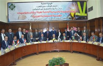 نقيب المهندسين يدعو اتحاد المهندسين العرب لرفع قدرات المكاتب الاستشارية العربية