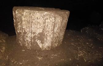 ضبط صالة معبد كاملة ترجع للعصر البطلمي بمنزل عامل في سوهاج