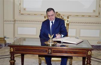 في الاحتفال بعيد الشرطة.. وزير الداخلية يسجل كلمة شكر للرئيس السيسي