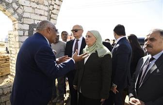 تفاصيل زيارة وزيرة التضامن إلى الوادي الجديد | صور