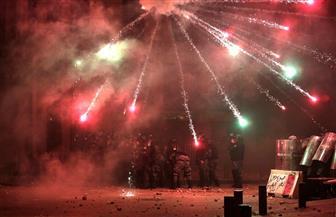 مسعفون: أكثر من 300 مصاب في اشتباكات بيروت أمس