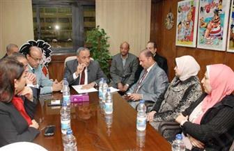 عبد المحسن سلامة في ضيافة «علاء الدين»   صور