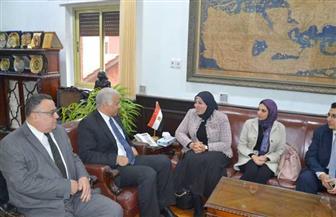 افتتاح مقر إدارة الطلاب الوافدين بجامعة الإسكندرية | صور
