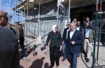 وزيرة الصحة: «البياضية» سيصبح أول مستشفى متخصص للنساء والولادة في جنوب الصعيد | صور