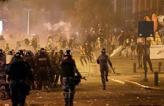 تجدد الاشتباكات بين الأمن والمتظاهرين في لبنان