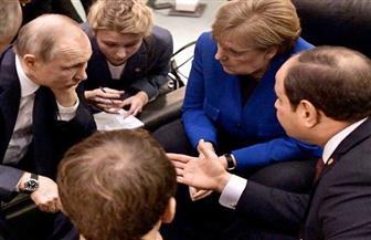 صفحة الرئيس السيسي على فيس بوك تنشر صورا جديدة من مؤتمر برلين