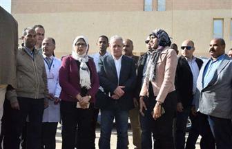 خلال جولتها بالأقصر.. وزيرة الصحة توجه بتشغيل وحدة معالجة الصرف بمستشفى العديسات خلال 15 يوما| صور