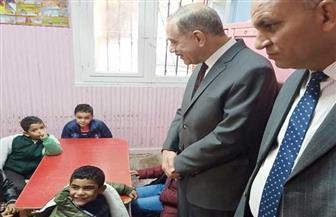 محافظ كفر الشيخ يزور داري الأمل والحنان لرعاية الأيتام | صور