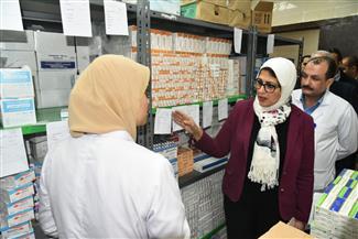 وزيرة الصحة تتفقد التشغيل التجريبي لمستشفى إسنا.. وتشيد بالخدمة الطبية المقدمة |صور