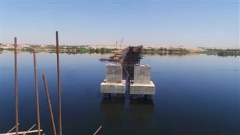 وزير النقل يتفقد مشروع محور كوبري كلابشة فوق النيل بأسوان| صور