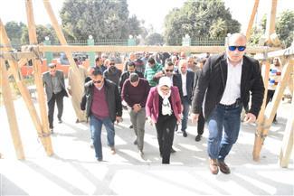 وزيرة الصحة ومحافظ الأقصر يتفقدان تطويرالوحدة الصحية بقرية القرايا| صور