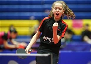 """هنا جودة: أسعى لتحقيق إنجاز جديد في بطولة العالم لـ""""تنس الطاولة"""" بكوريا"""