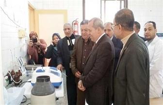 افتتاح قسم العلاج الطبيعي بمركز طب أسرة منية سمنود  صور
