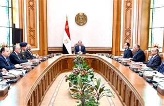 الرئيس السيسي يترأس اجتماع مجلس الأمن القومي