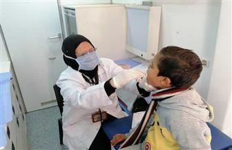 الكشف على 2300 مواطن في قافلة طبية بعزبة 8 في دمياط | صور
