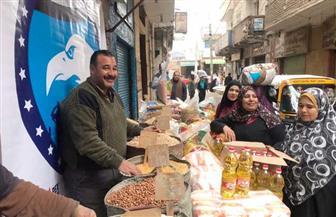 مستقبل وطن يفتتح منفذا للسلع الغذائية بكفر الشيخ | صور
