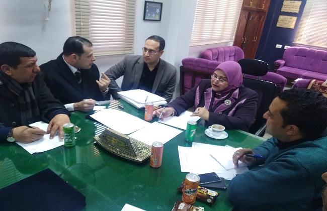 وكيلة وزارة التعليم بكفرالشيخ تترأس اجتماعا لمناقشة قضايا التعليم الخاص   صور -
