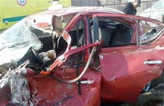 إصابة شخصين في حادث تصادم أعلى كوبري أكتوبر