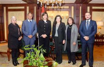 وزيرة الهجرة تلتقي المدير الإقليمي لبرنامج الأغذية العالمي لبحث سبل التعاون| صور
