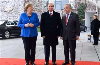 """المتحدث الرئاسي ينشر فيديو عن مشاركة الرئيس السيسي في """"قمة برلين حول ليبيا"""""""