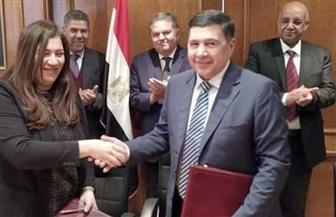 قطاع الأعمال العام يشهد توقيع عقد إعادة هيكلة شركات النقل البري للركاب والبضائع والتجارة الخارجية