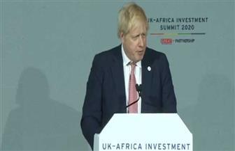 جونسون: نتطلع إلى بناء شراكة بين بريطانيا وإفريقيا