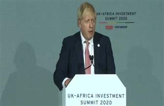 جونسون: إفريقيا هى المستقبل واخترنا مساعدة الشباب ورفع مستوى التعليم بها